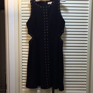 Michael Kors studded navy dress